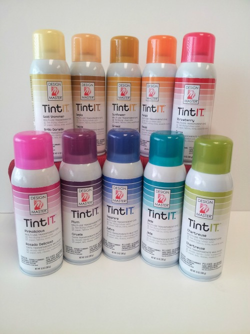 Design master tintit multi use spray paint for Paint to use on glass