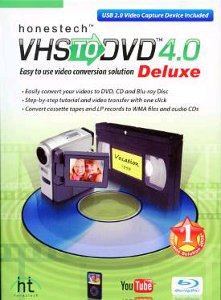 Honestech VHS to DVD Software