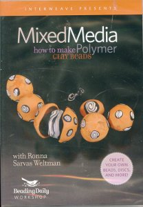 Mixed Media How to Make Polymer Clay Beads DVD