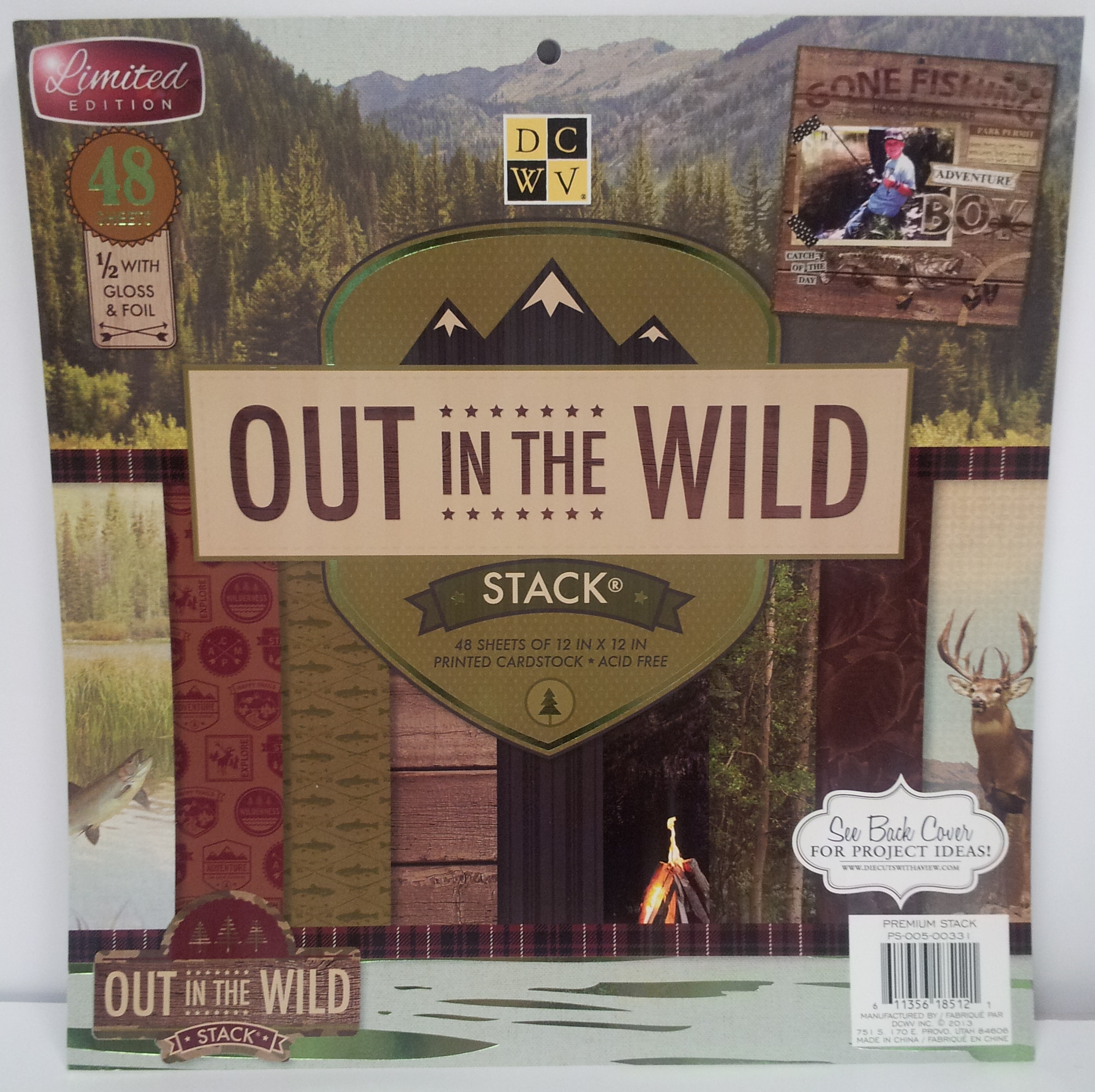 Scrapbook ideas adventure - Out In The Wild Stack