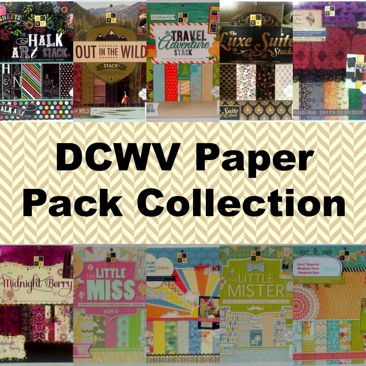 DCWV Paper Pack Collection