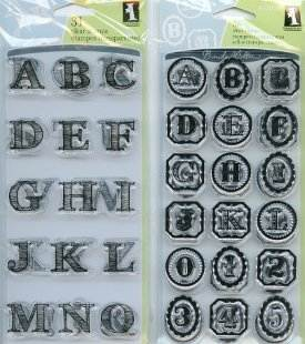 Sketchy Alphabet Stamps