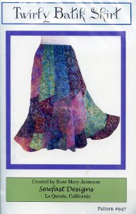 Twirly Batik Skirt Pattern