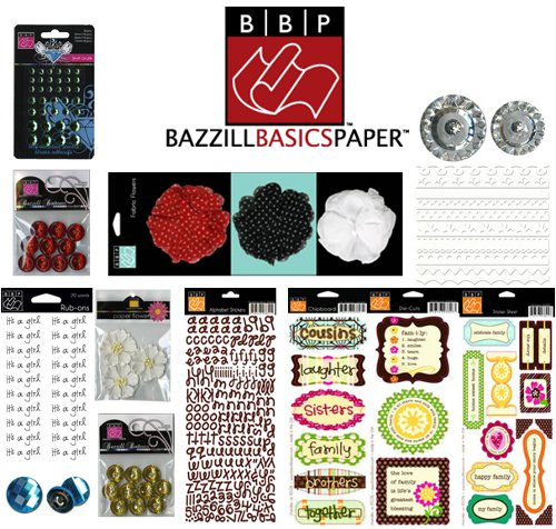 Bazzill Basics Embellshment Set