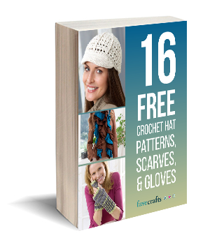 16 Free Crochet Hat Patterns, Gloves, and Scarves
