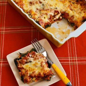 Sausage and Kale Mock Lasagna