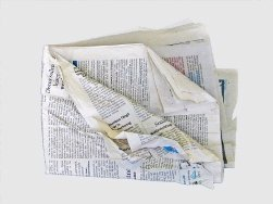 Scrapbooker's Tip: Preserving Old Newspaper Clippings