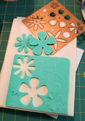 Make Your Own Foam Stamps
