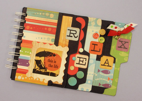 Mix It Up Scrapbook Album Favecrafts