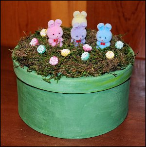 Bunny Land Easter Box