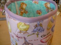 Fabric Easter Basket Step 6-3