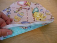 Fabric Easter Basket Step 7-2