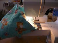 Fabric Easter Basket Step 8-3