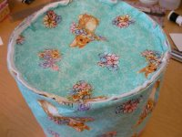 Fabric Easter Basket Step 8-4