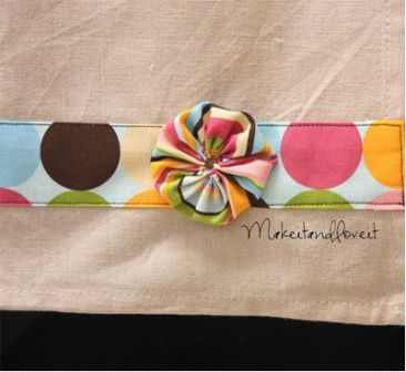 Embellished Tea Towel 2