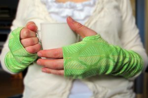 Knit Fabric Hand Warmers