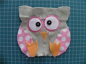Kooky Stuffed Owl
