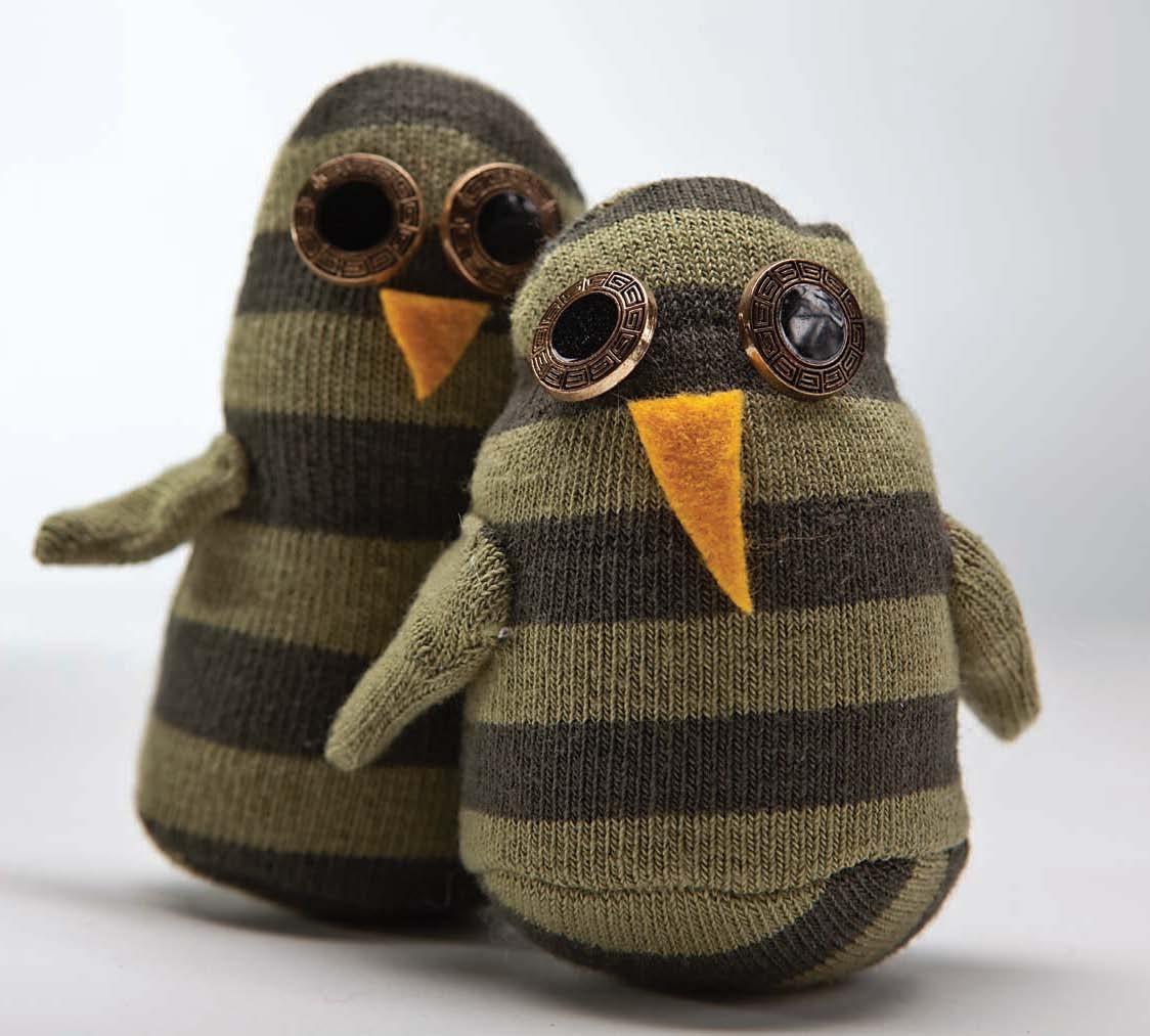 Owl Sock Friends Sewing Tutorial | FaveCrafts.com