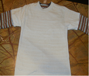Materials for Reverse Applique Shirt