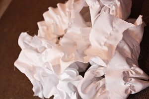 Cascading Ruffle Pillow