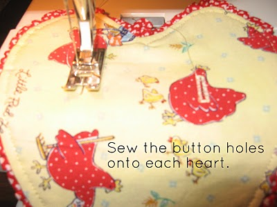 Sewing Button Holes