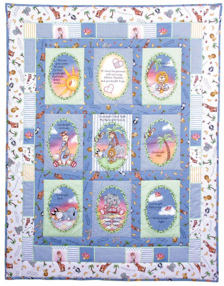 Free baby bed quilt patterns - Story Nursery Quilt Traditional Baby Quilt Blocks