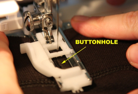 Sewing Buttonhole