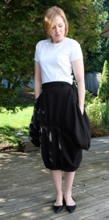 Button Waisted Skirt