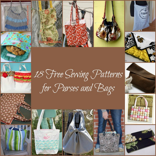 18 Free Sewing Patterns For Purses And Bags Favecrafts