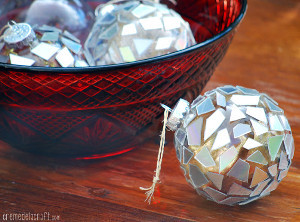 Shattered CD Ornament