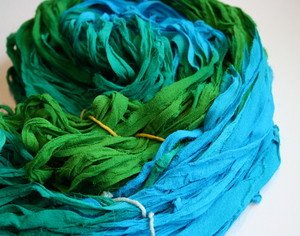 Silk Chiffon Ribbon Yarn