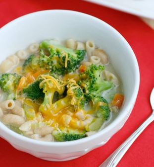 Skinny Broccoli and Cheese Soup