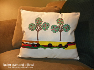 Stamp Your Style Pillow