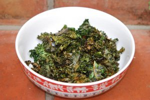 Super Healthy Kale Chips