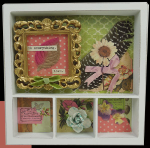 Sweet and Sentimental Shadow Box