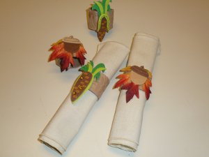 Harvest Napkin Rings
