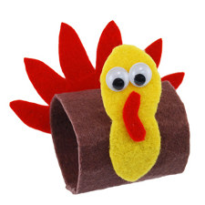 Thanksgiving Turkey Napkin Rings