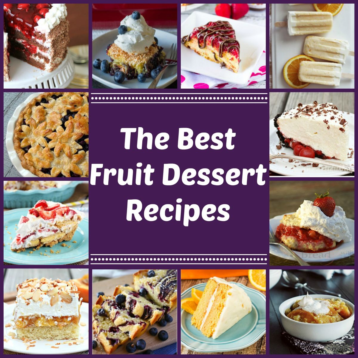 Irresistible Fruit Desserts: 217 Fruit Dessert Recipes