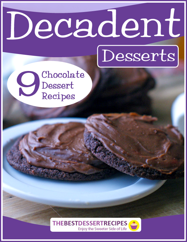 Decadent Desserts eBook