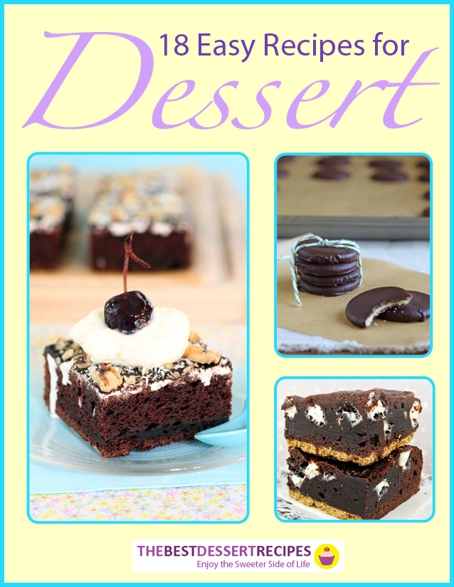 18 Easy Recipes for Dessert eBook