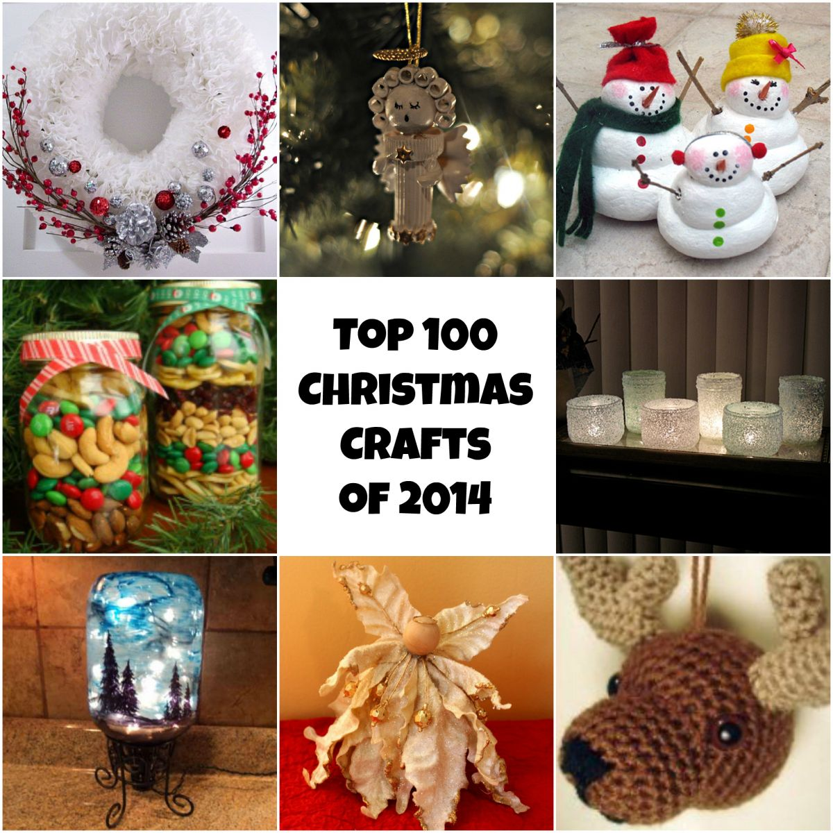 top 100 diy christmas crafts of 2013 diy christmas ornaments homemade christmas decorations - Christmas Gift Decorations