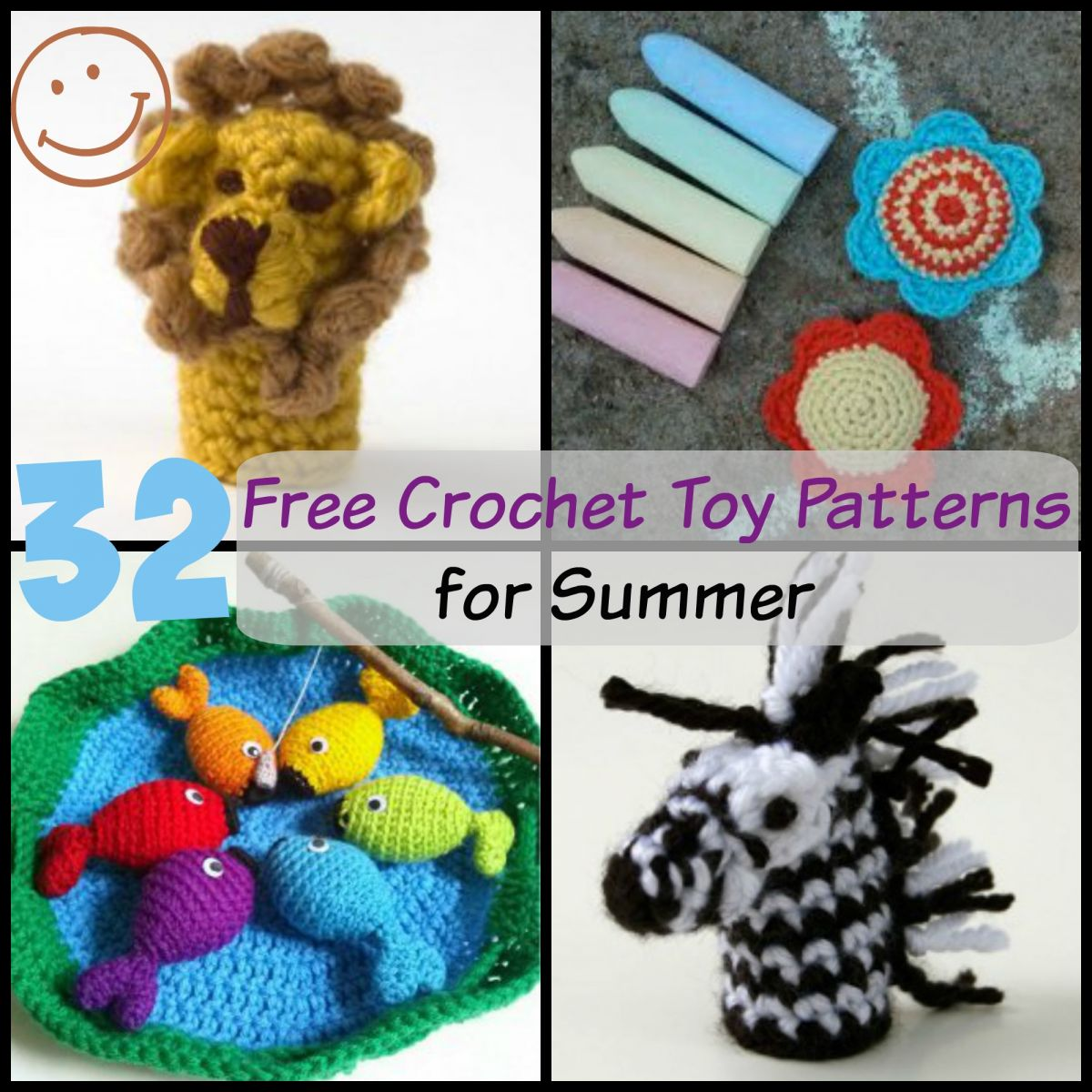 Toys To Crochet Free Patterns : 32 Free Crochet Toy Patterns AllFreeCrochet.com
