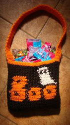 Trick or Treat Candy Bag