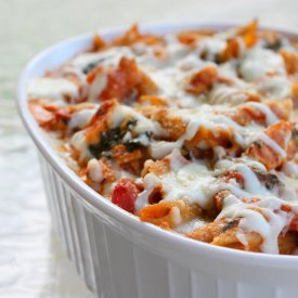 Ultimate Loaded Cheesy Chicken Pasta Bake