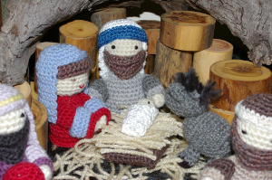 Amigurumi Nativity Scene