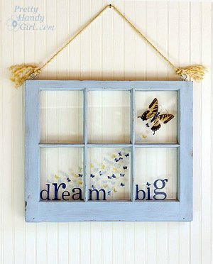 Big Dreams Butterfly Windwo