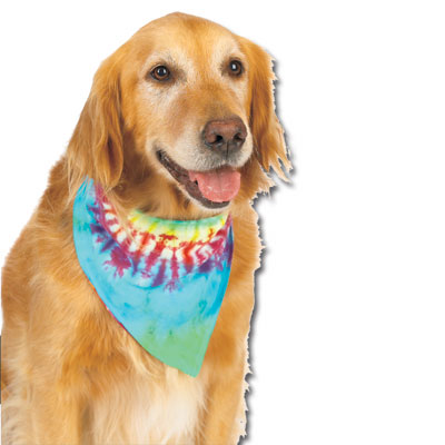 Tie Dye Dog Bandana From Tulip Favecrafts Com