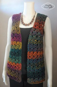 Free Crochet Pattern Mens Vest : Best Crochet Vests: 23 Crochet Top Patterns ...