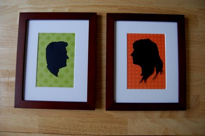 Custom Couple Silhouette- Frame 2