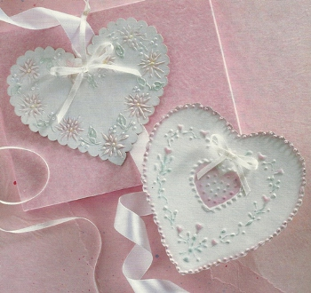 Floral Hearts Gift Tags
